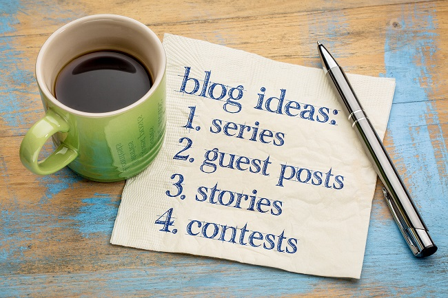 Blog Ideas List