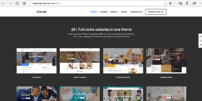 Etalan Premium WordPress Themes