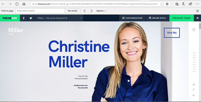 Miller Premium WordPress Themes