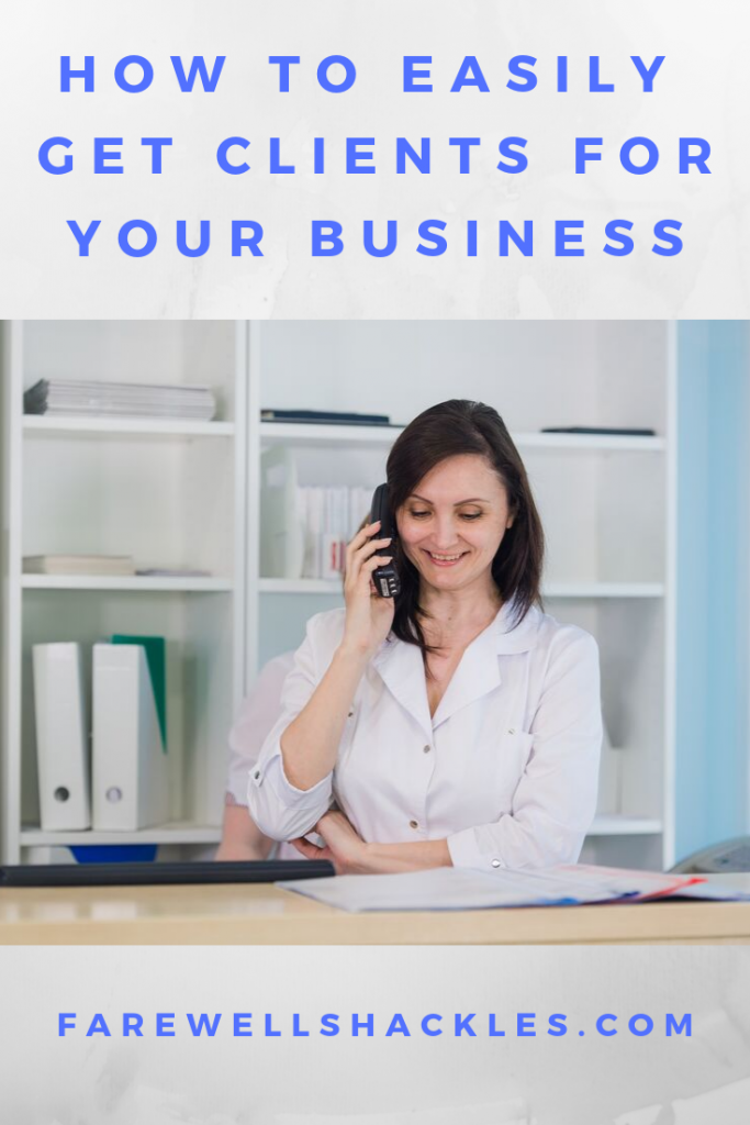 How to easily get clients for your business